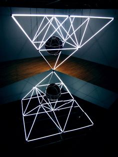 Neon Light Installation | jason peters