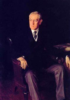 John Singer Sargent -Woodrow Wilson