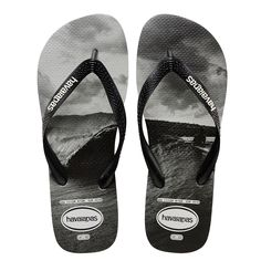 b73a4276d Havaianas Top Photoprint Sandal Black White Price From  £17.88 English Men