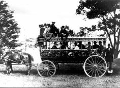 1800s stage coach