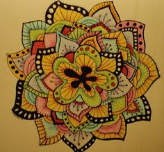 Interesting mandala tattoo -- great inspiration for a post-mastectomy coverage. [p-ink.org]