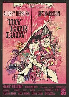 My Fair Lady is a 1964 musical film adaptation of the Lerner and Loewe stage musical, of the same name, based on the 1938 film adaptation of the original stage play Pygmalion by George Bernard Shaw.