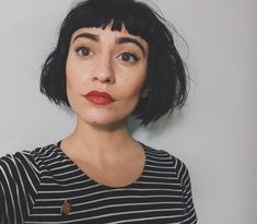 Tapered Chin-Length Bob