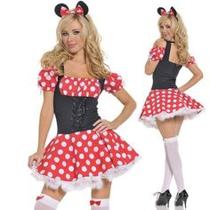 Adult Halloween Costumes for Women Minnie Costume for Women Cosplay Sexy Fantasy Women Wholesale