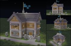 /r/minecraft: My growing town needed some quality housing for the upper-middle class.