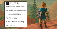 15 Perfect Internet Reactions to Zelda: Breath of the Wild