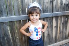 July 4th Bow Red White and Blue American by PaisleesandPigtails, $10.00