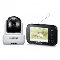 Samsung SEW-3037 Safeview Video Baby Monitor- Safety Products for Baby Kids Video Camera monitoring, #babymonitoring #videocamera #baby