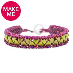 Zipper Bracelet | Fusion Beads Inspiration Gallery