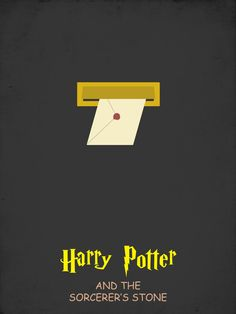 Harry Potter and the Sorcerer's Stone [Chris Columbus, 2001] «Harry Potter Minimalist Author: Gotrei»