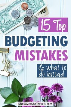 Budgeting finances - we all make mistakes. Here's the top budgeting tips and what to do instead! Finally stick to a budget and build solid money habits for LIFE! #budgeting #finances Budgeting Tips | Budgeting for Beginners | Budgeting Finances | Saving Money Budgeting Finances, Budgeting Tips, We All Make Mistakes, Create A Budget, Money Tips, Saving Money, How To Make, Top, Life