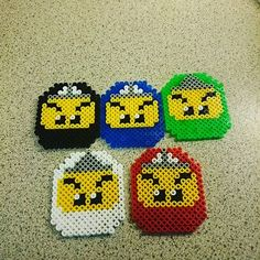Lego Ninjago perler beads by trine7000