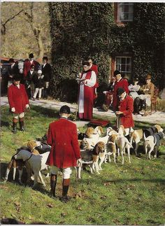 Blessing Of The Hounds, Iroquois Hunt Club.