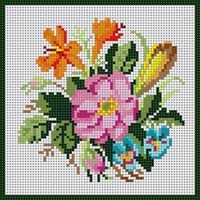 Images in the community post Beaded Cross Stitch, Cross Stitch Flowers, Cross Stitch Embroidery, Embroidery Patterns Free, Cross Stitch Patterns, C2c Crochet, Cross Stitching, Flower Patterns, Needlepoint