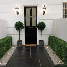 Awesome Small Front Garden Design Wasserfall Beste Ideen - Famous Last Words Limestone Paving, Paving Slabs, Paving Stone Patio, Slate Paving, Driveway Paving, Brick Pavers, Paving Stones, Small Front Gardens, Back Gardens