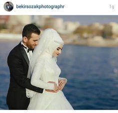 Romantic Couples, Cute Couples, Sweet Couples, Wedding Pics, Dream Wedding, Wedding Dresses, Turkish Fashion, Turkish Style, Bridal Hijab