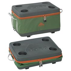 Kelty Folding Cooler  this is great - bet it's expensive