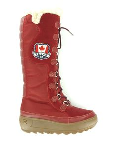 I JUST GOT THESE!!!!  Red Greenland Boot