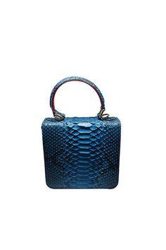 Imperio Leslie Small Turquoise handbag