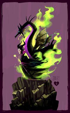 Maleficent by elyjenna on deviantART