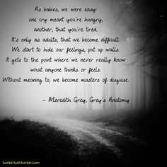 meredith grey quotes | Meredith Grey, Grey's Anatomy