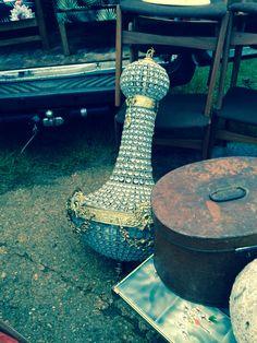 Antique chandelier at Ardingly antiques fair: www.iacf.co.uk/Ardingly