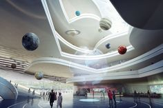 Moscow Polytechnic Museum and Educational Center Competition Entry | 3XN