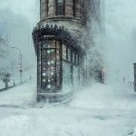 This Photograph of the NYC Winter Storm Looks Like an Impressionist Painting - Michele Palazzo