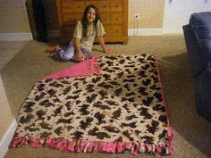 1000 Images About Diy Blankets On Pinterest Fleece