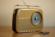 newman vintage radio