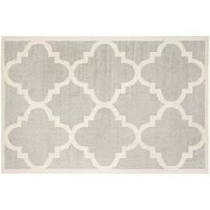 Safavieh Amherst Fretwork Indoor Outdoor Rug, Grey