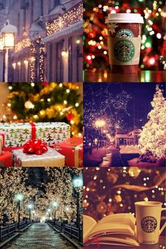 Starbucks and Christmas = Ho Ho Ho ^_^