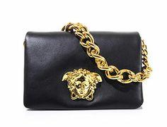Versace chainlink clutch
