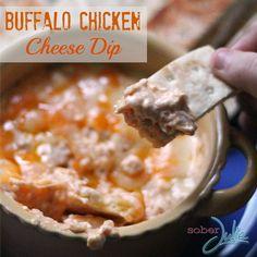 Buffalo Chicken Cheese Dip Recipe.