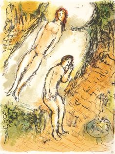 """Les Lamentations d'Ulysse"" Marc Chagall - Park West Gallery"