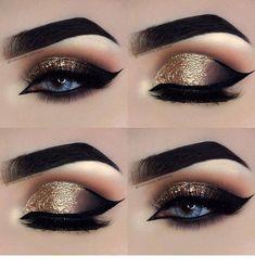 Eye make-up for beginners step by step -. - Eye make-up for beginners step by step – P R O M – # BEGINNER # eye … – Eye Makeup – # be - Makeup Eye Looks, Beautiful Eye Makeup, Eye Makeup Tips, Makeup Hacks, Smokey Eye Makeup, Makeup Goals, Makeup Inspo, Eyeshadow Makeup, Makeup Ideas