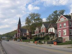 Sedamsville neighborhood of Cincinnati; home to Boldface Park.