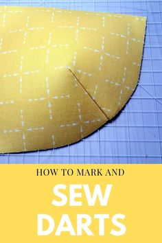 How to sew darts. A full photo step by step tutorial with close up images of how to sew darts. How to transfer dart markings to your fabric, how ti pin a dart, how to sew the dart, how to start and stop sewing at the ends of your dart, how to press a dart. Lots of tips and tricks for how to sew darts for sewing clothing and bags. Easy bag sewing tips for beginners. Sew Simple, Simple Bags, Easy Bag, Sewing Lessons, Sewing Hacks, Sewing Tips, Fabric Markers, Back Stitch, Lessons For Kids