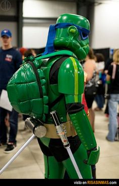 Teenage Mutant Star Wars Turtles.