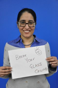 Break your glass ceiling.  | Sikhpoint.com