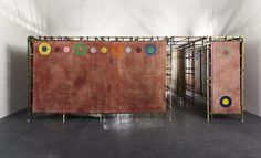 Alan Shields Maze | 13 ways of looking at painting by Julia Morrisroe