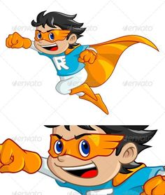 Buy Super Rush Boy by on GraphicRiver. Illustration of boy that become the super hero, he use mask and cape. And he running so fast and so rush. Logo Character, Character Design, Superhero Kids, Roller Skating, Digital Illustration, Pikachu, Disney Characters, Fictional Characters, Cartoon