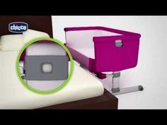 Chicco Next 2 Me Co-Sleeper Bedside Crib - How To Use Video | Baby Monitors Direct - YouTube