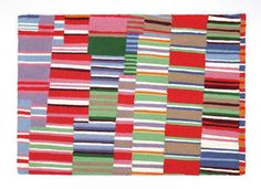 Awning Striped 4 x 6 Bright Cottage Rug, designed by Kaffe Fasset...love this rug!