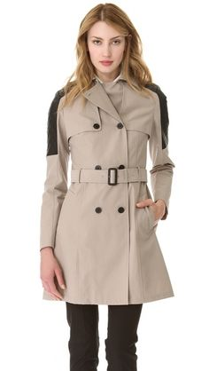 Mackage Lilith Trench Coat...I would SO love to have this!