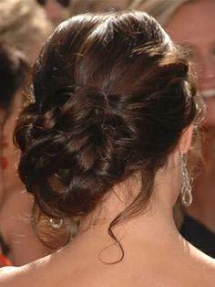 hair side updo