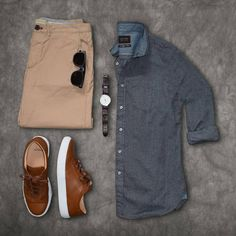Mens Clothing Ideas – Page 18 – Stylish Mens Clothes That Any Guy Would Love. - Mens Clothing Ideas – Page 18 – Stylish Mens Clothes That Any Guy Would Love - Komplette Outfits, Casual Outfits, Fashion Outfits, Fashion Ideas, White Shirt Outfits, Fashion Inspiration, Fashion Clothes, Fashion Trends, Stylish Men