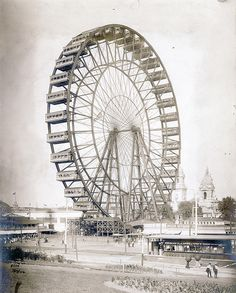 Observation Ferris Wheel, St. Louis World's Fair by Missouri History Museum, via Flickr