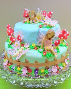Delanas Cakes Fairy Cake Picture cakepins.com