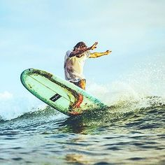 Ride to the beat of your own drum! @hatsumisurfboard via @raskal #summer #salty #girl #boy #surfer #waves #melbourne #mates #search #travel #explore #yew #tssd